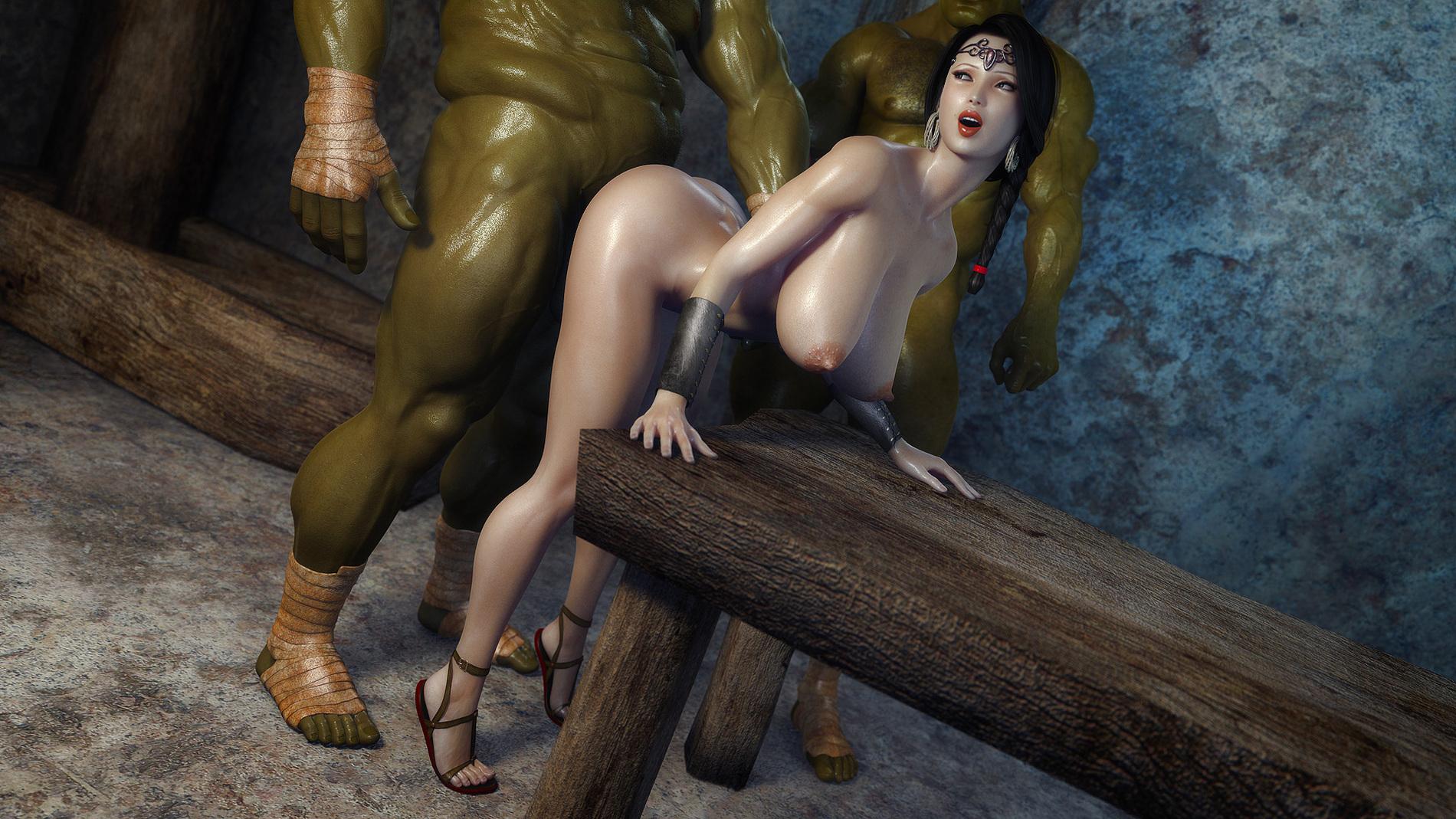 Monster nude pics